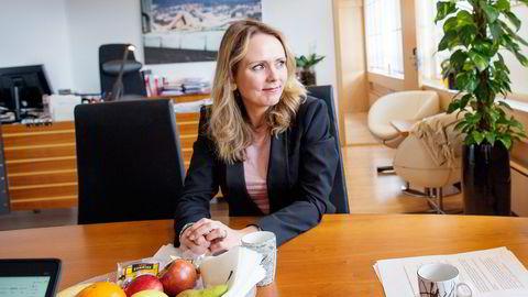 Kulturminister Linda Hofstad Helleland Foto: