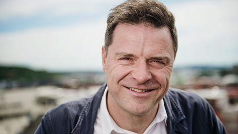 Sjefredaktør i Aftenposten, Espen Egil Hansen. Foto:Hampus Lundgren