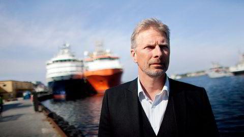 konsernsjef Carl Lieungh i Sevan Marine. Selskapet tar ytterligere nedskrivninger. Foto: Tomas Alf Larsen