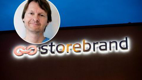 Ole Morten Halvorsen har verdier for over 1,6 milliarder kroner plassert på Oslo Børs. Forsikringsselskapet Storebrand er blant hans aller største investeringer.