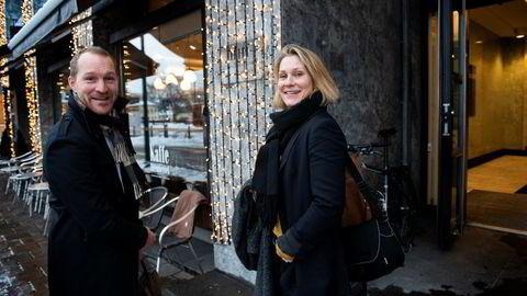 Daglig leder Eskild Rudolf Larsen og markedssjef Maria Øverli Jansson i bedriftshelsetjenesten Stamina Group får ny eier i oppkjøpsfondet Norvestor.
