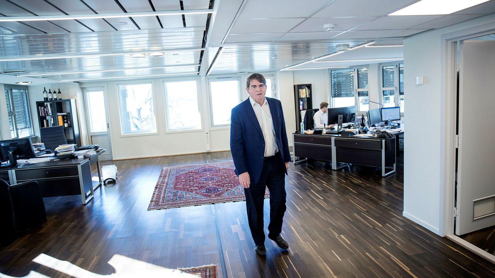 Jan Petter Sisseners aksjefond er tungt lastet med Storebrand-aksjer.