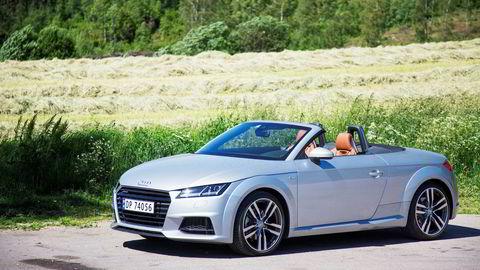 Audi TT Roadster. Nå er det slutt for den ikoniske sportsbilen.