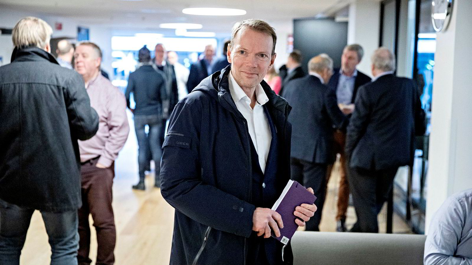 Mercedes-sjef Kjetil Myhre i Bertel O. Steen fikk onsdag de endelige registreringstallene for 2018. Mercedes solgte 40 prosent færre biler i fjor.