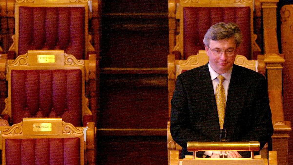 Karl Eirik Schøtt-Pedersen har bare tittelen «statsråd ved Statsministerens kontor». Jobben hans er å være regjeringens kompromissmaskin.