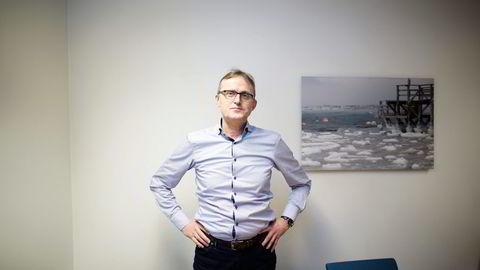 Fungerende administrerende direktør Knut Sæberg sier North Energy.                    Foto: