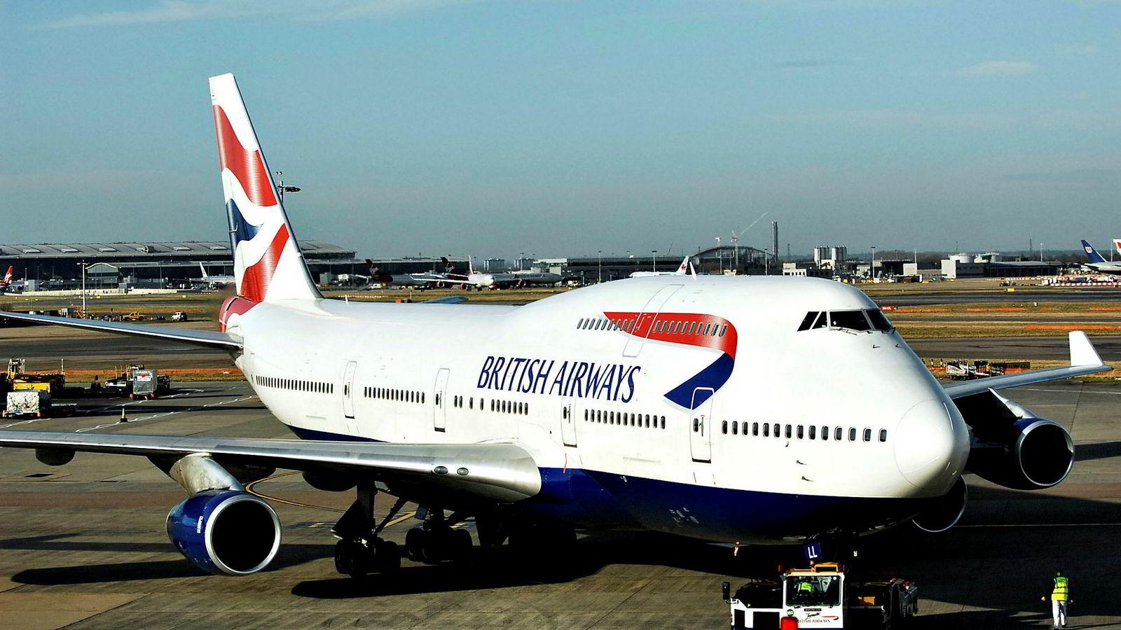 Flere flyselskaper stanser sine flyvninger til Kairo, deriblant British Airways.