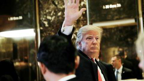 Russerne skal ifølge en angivelig etterretningsrapport sitte på kompromitterende informasjon om påtroppende president Donald J. Trump.