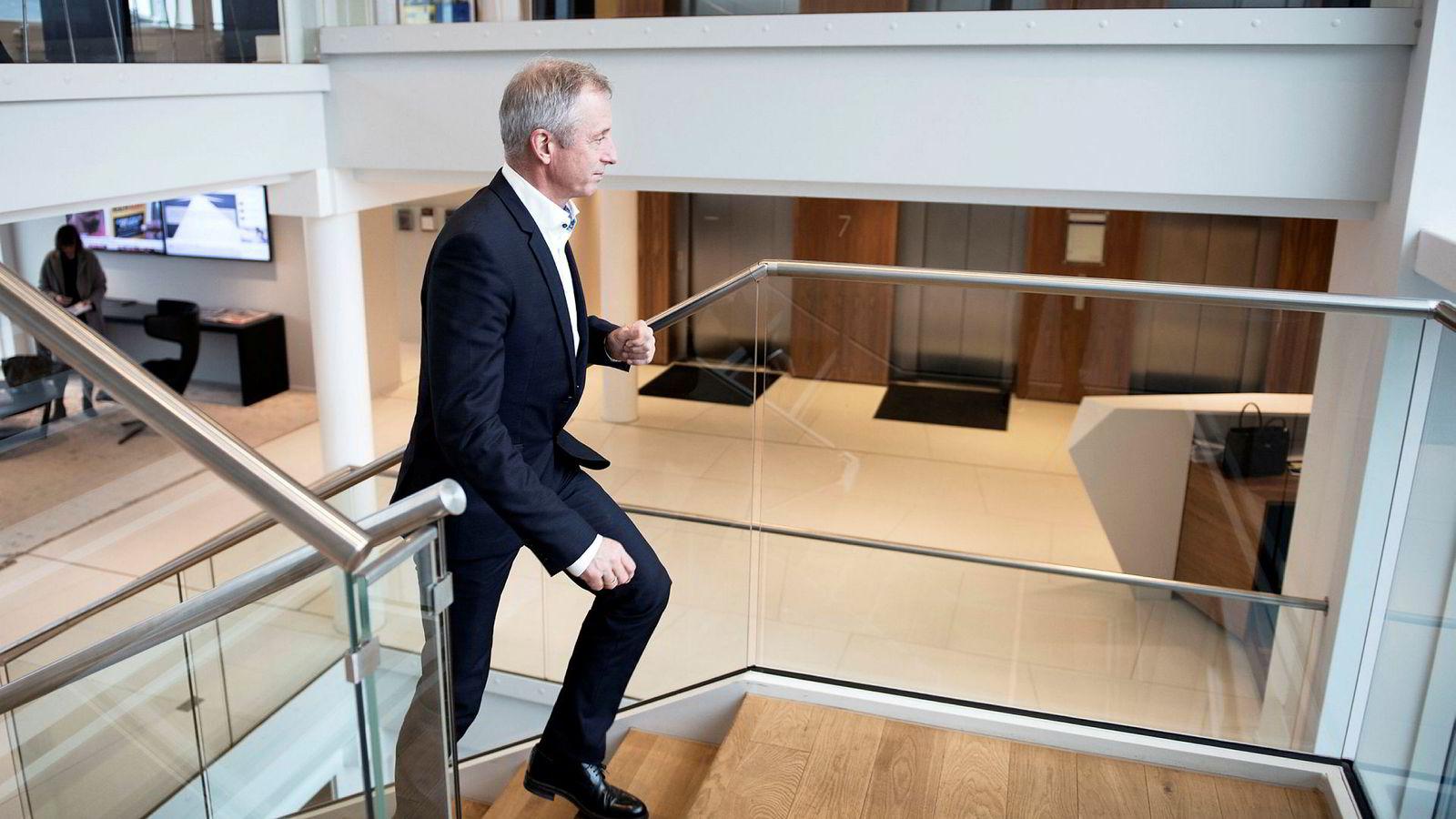 – Jeg er en forsiktig person som er redd for å gjøre feil, sa en preget og lettet Jo Lunder på pressekonferansen onsdag.