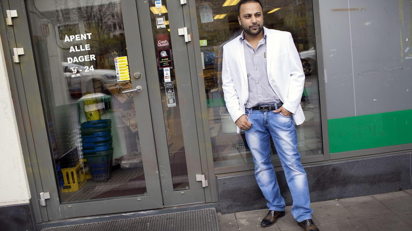 Lime-gründeren Sajjad Hussain var på vei til Pakistan da han ble pågrepet. Nå sitter han tiltalt som en av hovedmennene i Lime-saken.