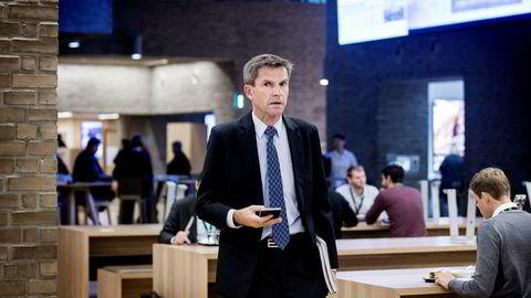 DNB Markets-sjef Ottar Ertzeid. Tallene er langt under resultatkravet på én milliard kroner.