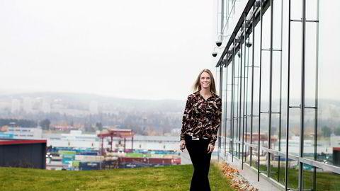 Else Bay (36) begynte i ny jobb i Siemens tidligere i år. Muligheten fikk hun gjennom en hodejeger.