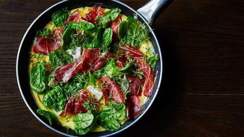 Slik lager du en god omelett med Björn Svenssons metode
