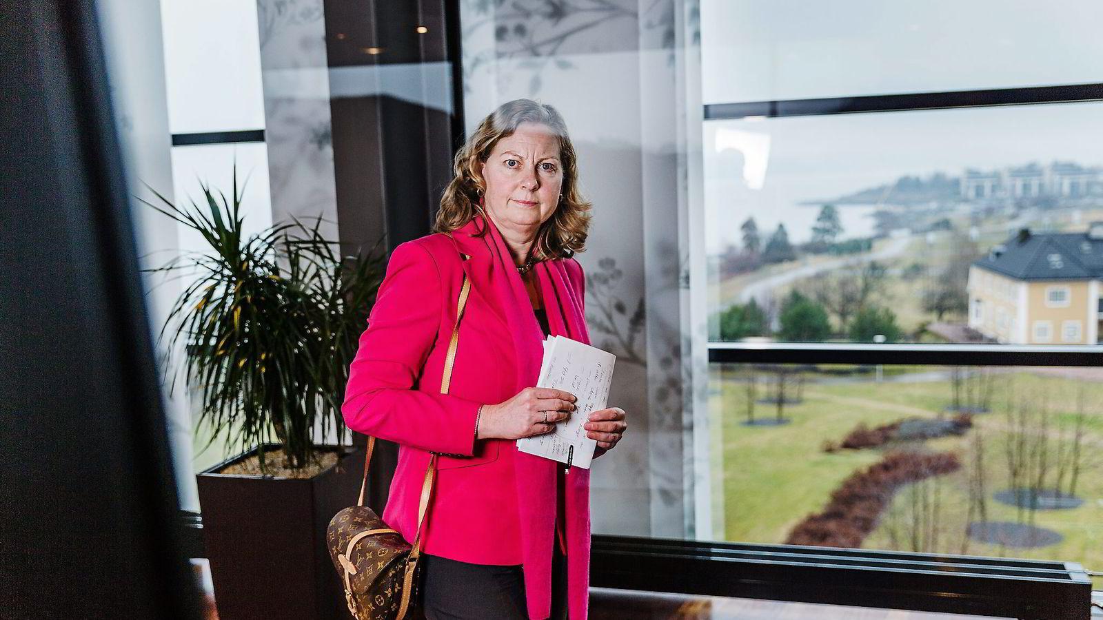 Berit Svendsen skal ikke ha vært en av de tre kandidatene som gikk videre til intervju med styret i Telenor. Foto: Per Thrana