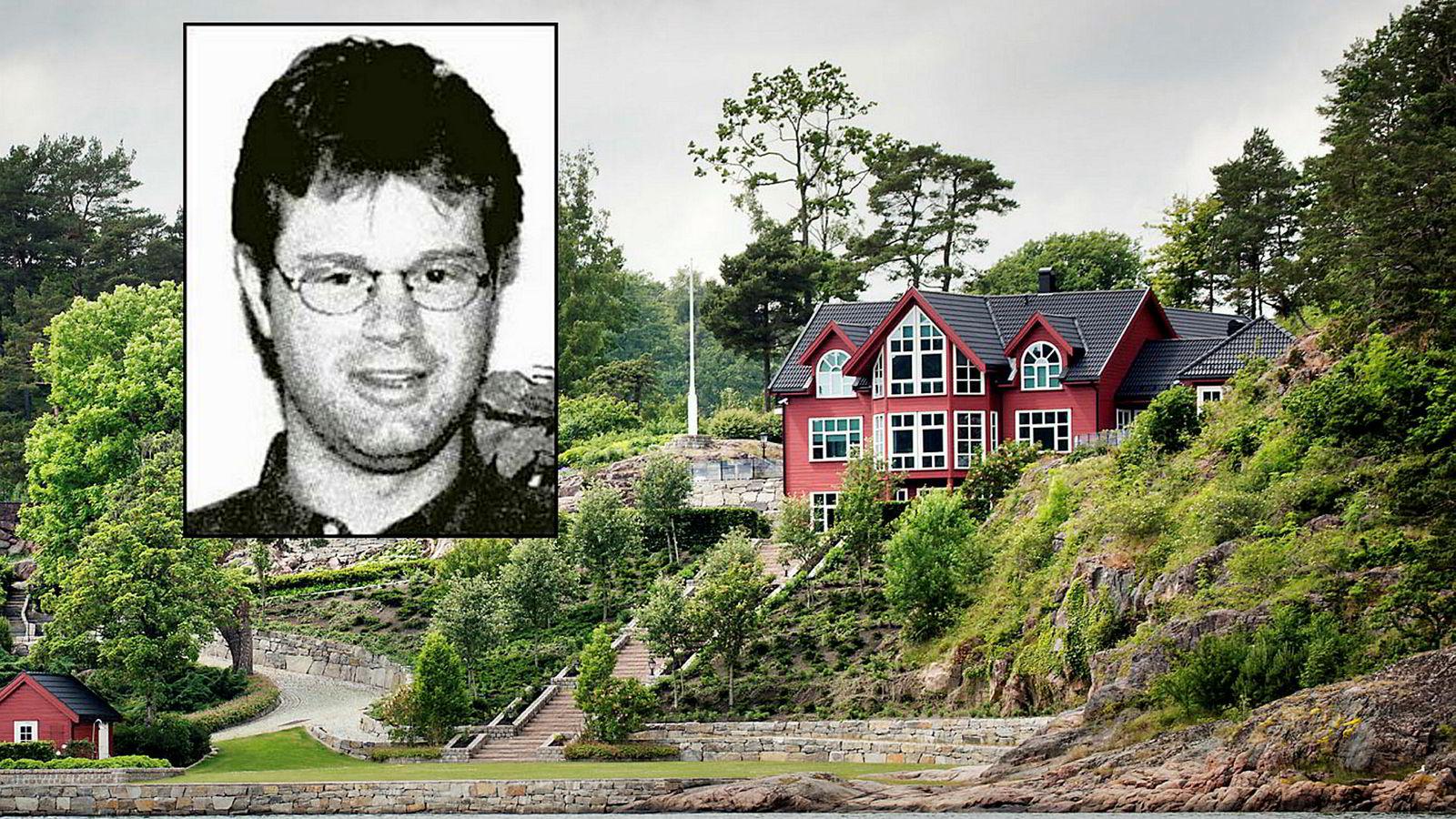 Kraftttrader Einar Aas risikerer å bli slått konkurs eller bli satt under administrasjon etter å ha tapt stort i kraftmarkedet. Her innfelt i eiendommen hans på Naxbie i Grimstad.