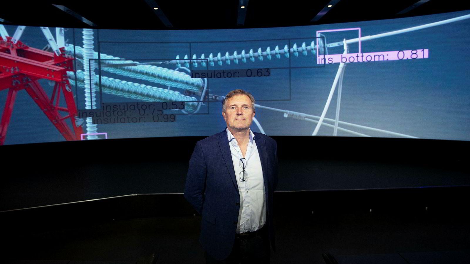 Esmart Systems i Halden og Knut Johansen nærmer seg den første milliarden.