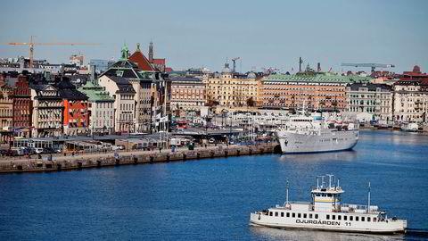 I det sentrale Stockholm koster nå en bolig i gjennomsnitt knapt 88.000 kroner per kvadratmeter.  Foto: Casper Hedberg/