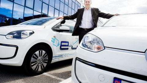 For Volkswagens mann i Norge, Møllergruppens toppsjef Terje Male, har arbeidsuken vært så langt fra normalen som han kan tenke seg. Foto: Gorm K. Gaare