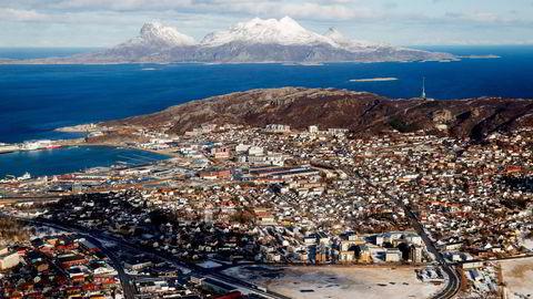 Bodø har nå passert 50.000 innbyggere. Foto: Håkon Mosvold Larsen/