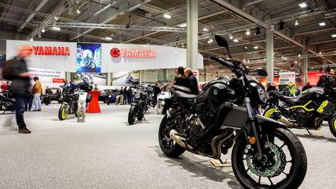 Regjeringen legger om avgiftene på motorsykler i sommer. Bildet viser en Yamaha MT-07 som blir omkring 4000 kroner billigere.