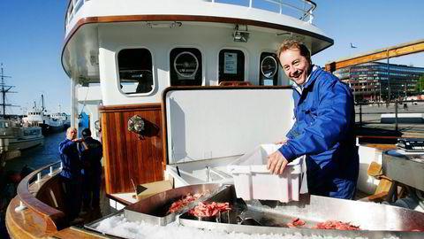 Kjell Inge Røkke låner ut til Bernt Bodal i American Seafoods. Foto: Fartein Rudjord