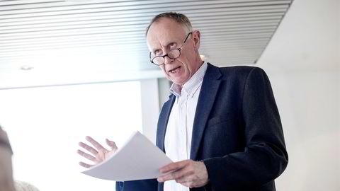 SER UTFORDRING: LOs sjeføkonom Stein Reegård advarer mot ufordringer knyttet til asylstrømmen. FOTO: Mikaela Berg