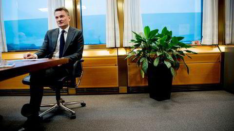 Egil Matsen, visesentralbanksjef i Norges Bank, forklarer hvorfor det skjer endringer i eiendomsforvaltningen.