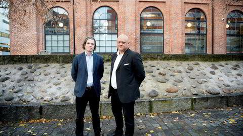 Fagspesialist Geir Ormseth og fagdirektør Jorge Jensen i Forbrukerrådet sa nei takk til forliksforhandlinger med DNB.