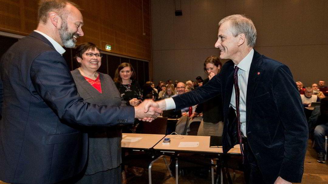 Ap ordfører utelukker ikke fremtidig toppverv for Giske | DN