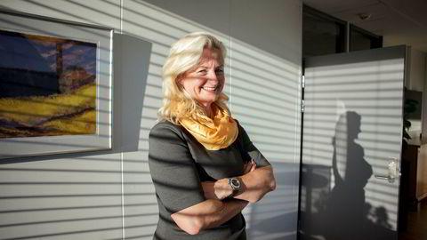 Styremedlem Ann Christin Andersen (avbildet) og Hans von Uthmann i Veidekke kjøpte aksjer for 284.000 og 200.000 kroner etter kursfall på 17 prosent. Kjøpene gjør at Veidekke nå er maksimalt positiv på Investtechs innsiderangering.