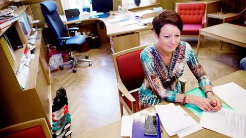 Line Henriette Hjemdal (KrF) skyter ned Høyres håp om delprivatisering av Statkraft etter partiets modell. Foto: