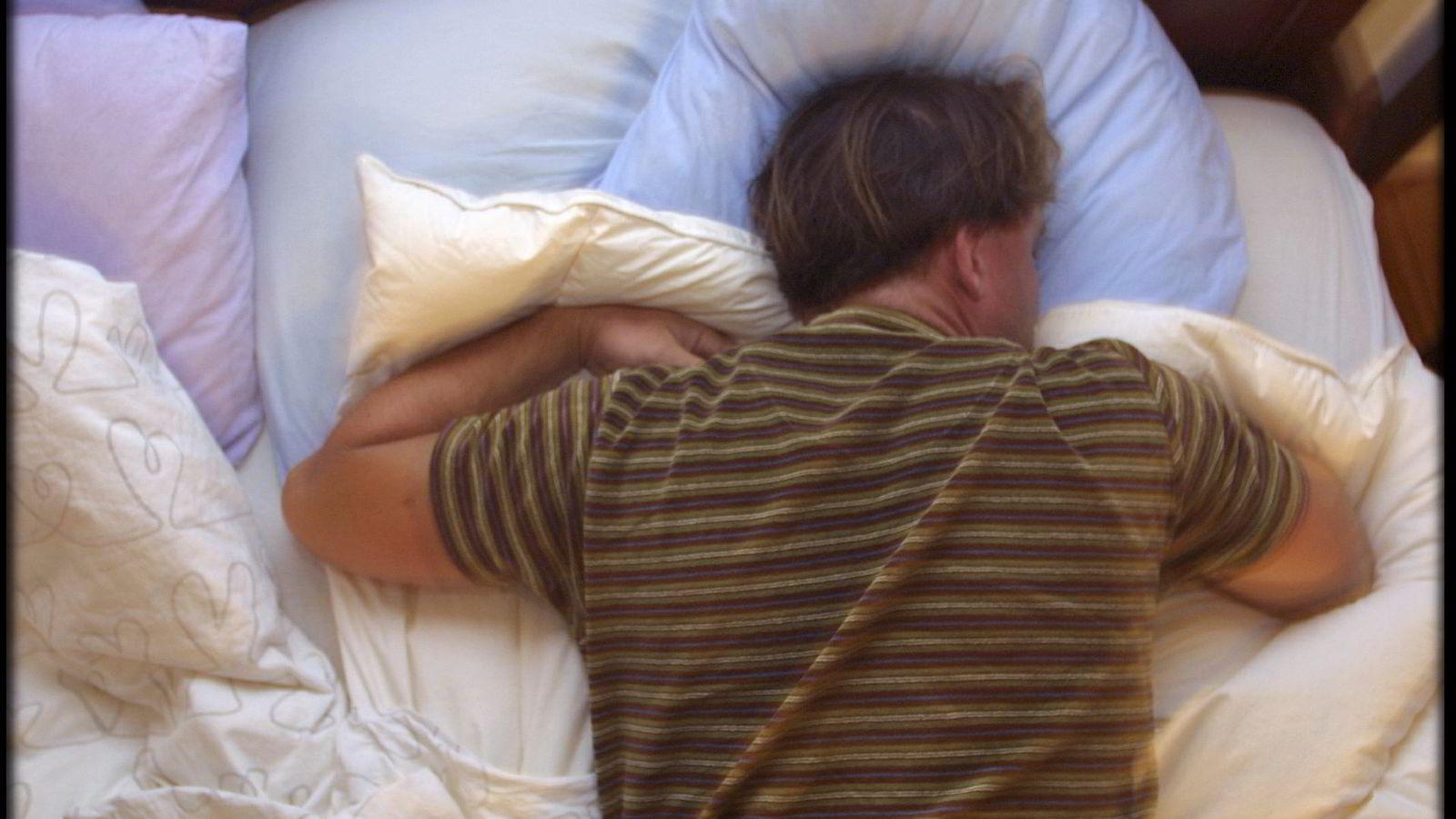 Mange studenter sliten med søvnproblemer.