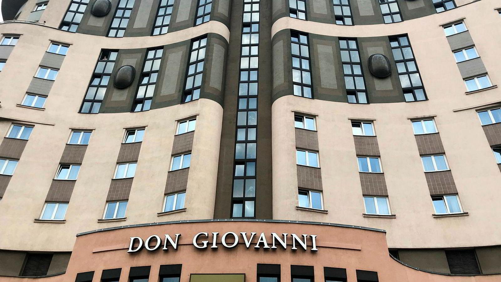 Don Giovanni Hotel i Tsjekkias hovedstad Praha er et firestjerners hotell.