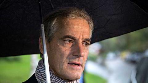 AP-leder Jonas Gahr Støre er klart til å samarbeide med regjeringen om konsekvensutredning av oljeboring sør for Lofoten.