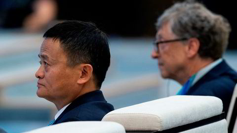 Alibaba-grunnlegger Jack Ma og Microsoft-grunnlegger Bill Gates deltar på handelsmessen China International Import Expo (CIIE). Begge er sterkt kritiske til handelskrigen mellom USA og Kina.