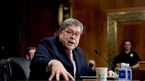 Justisminister William Barr tvinges til å utlevere dokumenter fra Mueller-rapporten.