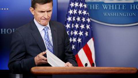 Den mektige stillingen som presidentens sikkerhetsrådgiver har eksistert i nær 70 år. Ingen har tidligere sittet så kort tid i jobben som Michael Flynn. CARLOS BARRIA/Reuters/NTB Scanpix