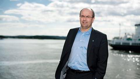 Lerøy-styreleder Helge Singelstad lyktes på annet forsøk.                    Foto: Per Thrana