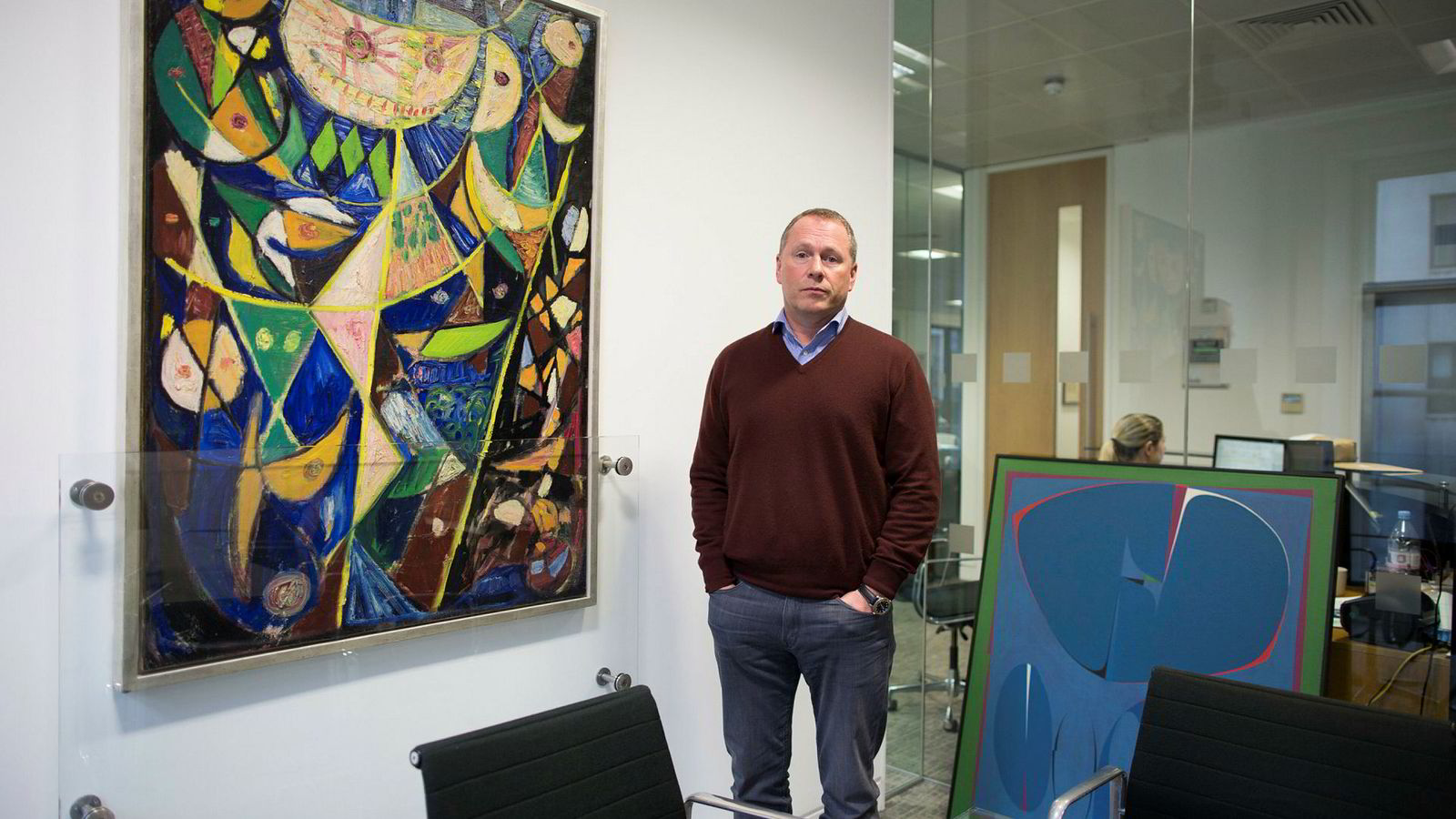 Den over gjennomsnittet kunstinteresserte Nicolai Tangen tjente 1,3 milliarder kroner i fjor.