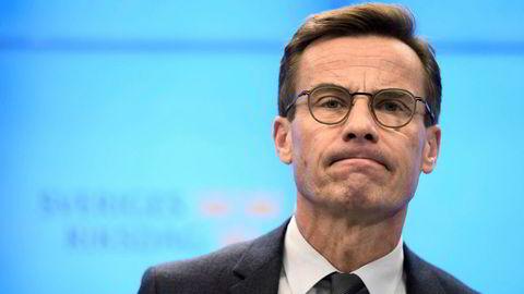 Ulf Kristersson ble nedstemt i Riksdagen etter statsministeravstemningen.