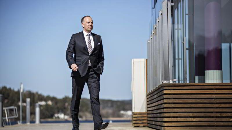 Administrerende direktør Christian Wannervold Dreyer i Eiendom Norge.
