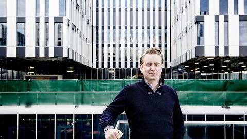 Kristian Monsen Røkke har fått en tung start siden han ble direktør i selskapet i august. Foto: Gorm K. Kaare