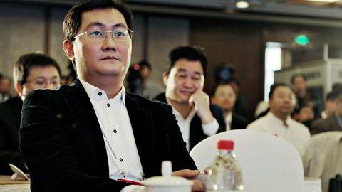 Grunnlegger Pony Ma i det kinesiske internettselskapet Tencent 50-doblet aksjekursen på ti år. Siden januar har børsverdier på 1250 milliarder kroner forsvunnet. Likevel er Ma fortsatt en av Kinas rikeste.