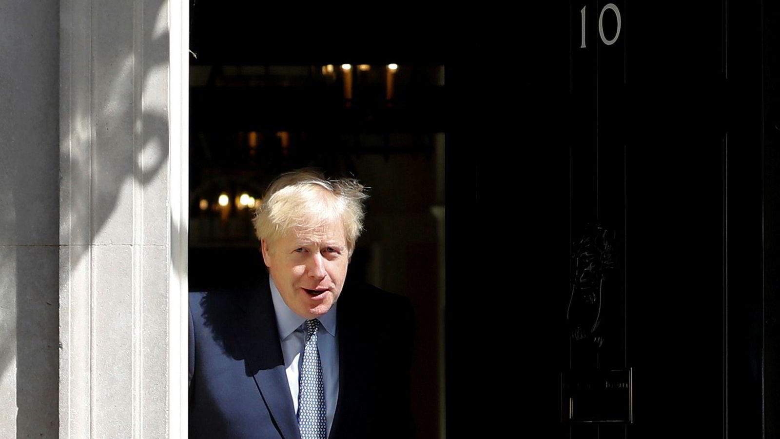 Boris Johnson har sendt brev til EU-president Donald Tusk med ønske om en bedre løsning for irskegrensen.
