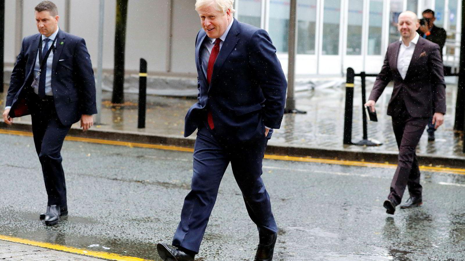 Storbritannias statsminister Boris Johnson la onsdag frem sitt forslag til en ordning som kan erstatte den såkalte backstop-løsningen for irskegrensen.