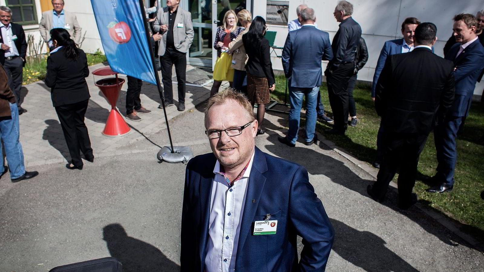 KONGEHUSKRITISK. – Kronprinsparet opptrer mer og mer som politikere, sier republikaner Per Sandberg. Foto: Klaudia Lech