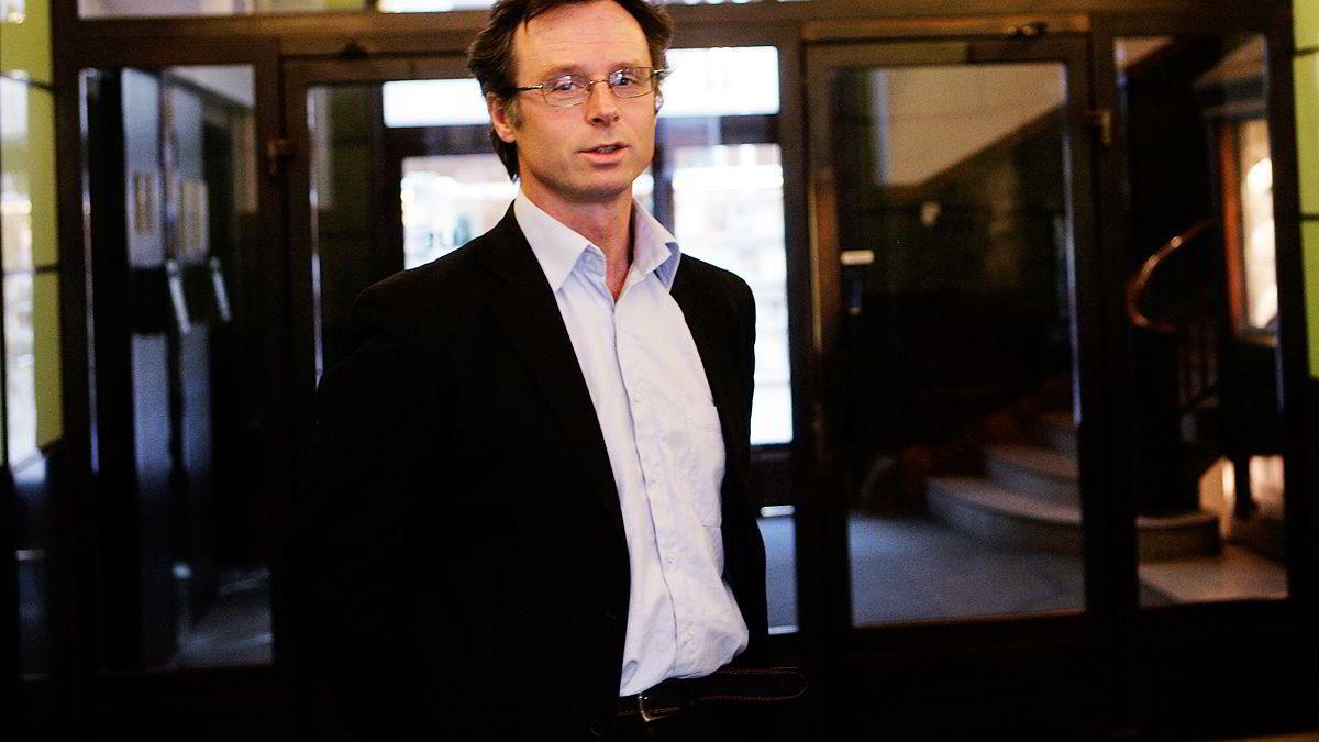 Erling Holmøy i Statistisk sentralbyrå.