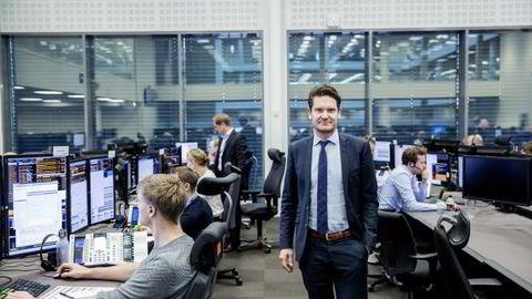 Sjeføkonom Kjetil Olsen i Nordea Markets. Foto: Fredrik Bjerknes