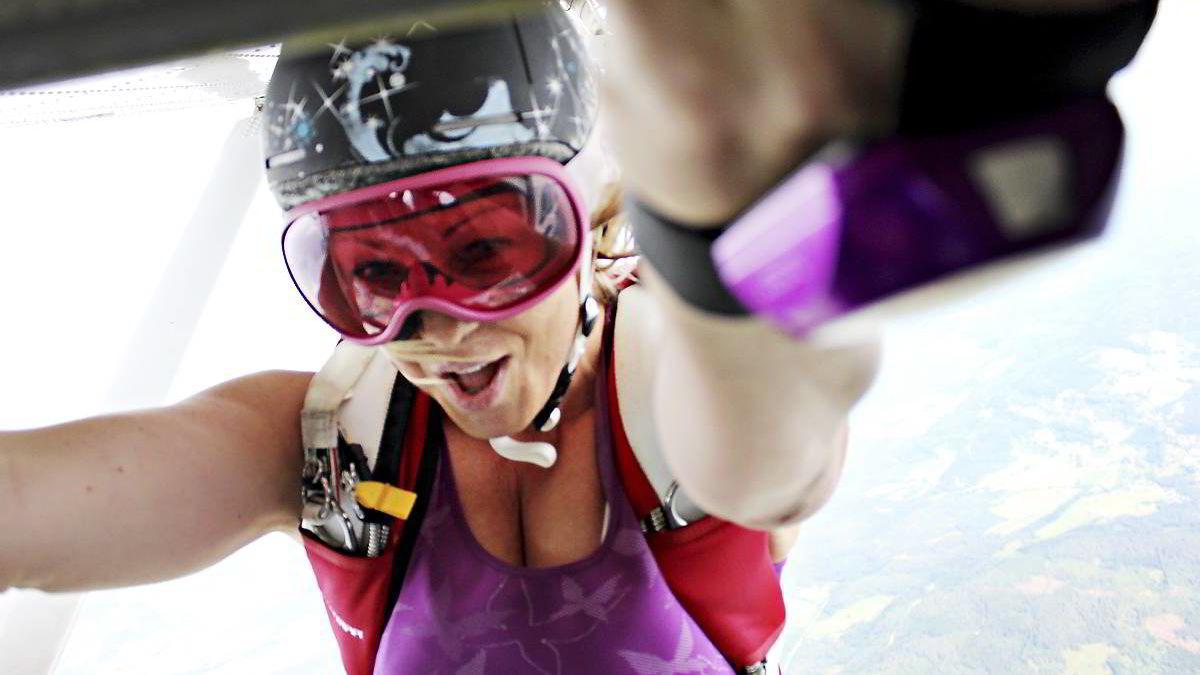 Millionomsetning: Tidligere OL-vinner Kari Traa satte ny rekord i salg av eget klesmerke i 2013.