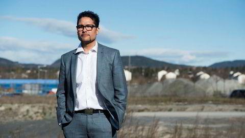 Obos-sjef Daniel K. Siraj mener det er absurd at miljøvennlig norsk kraft brukes til produksjon av spekulative kryptovalutaer.